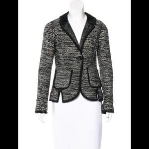 Chris Benz Boucle Wool/Cashmere Jacket